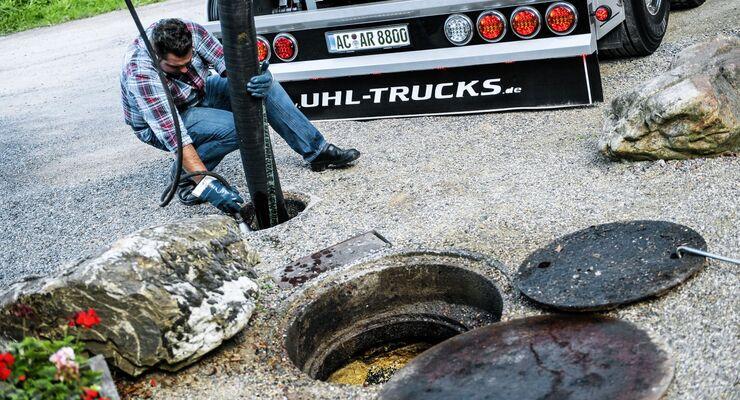 Truck Jobs Kanalreinigung