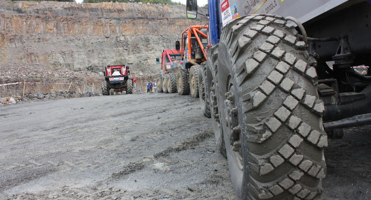 Truck Trial in Osnabrück 2009