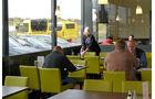 Truckstop, Total Autohof Krefeld, Große Fenster,
