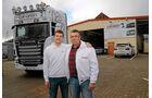 Unterwegs mit Wechselsilos, Scania, R 730, Krotten, Sohn Kevin