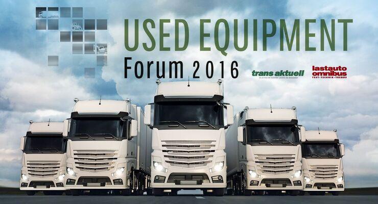 Used Equipment Forum 2016