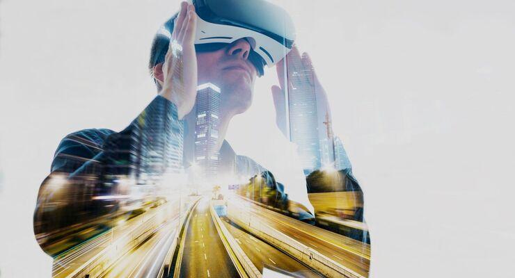 VR-Brille, Zukunft, Fahren der Zukunft, Verkehr, autonom
