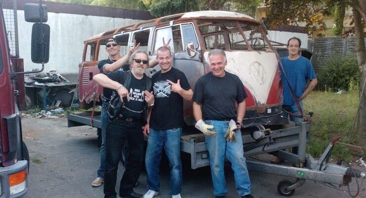 VW Bus T1, Bulli, Samba, Sambabus, Samba Bus, 23 Fensterbus, Lackierarbeiten, Blecharbeiten