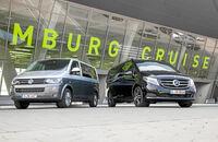 VW Multivan gegen Mercedes V-Klasse