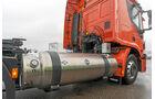 Vergleich LNG- mit CNG-Lkw, Vorrat
