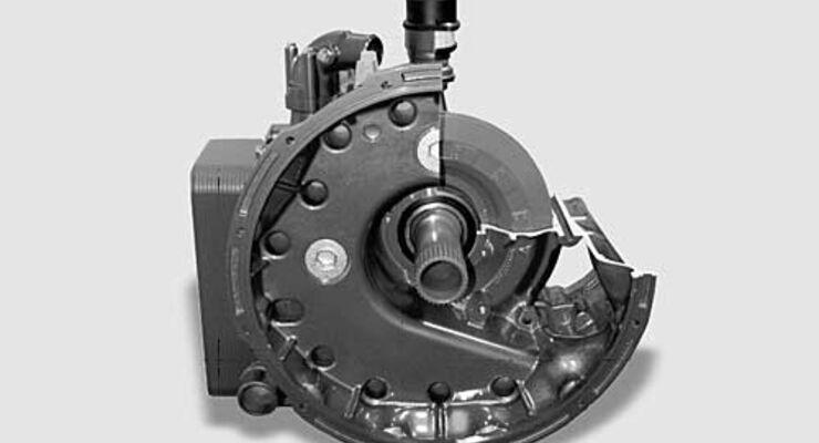 Verschleißfreies Integriertes Anfahr- und Bremselement