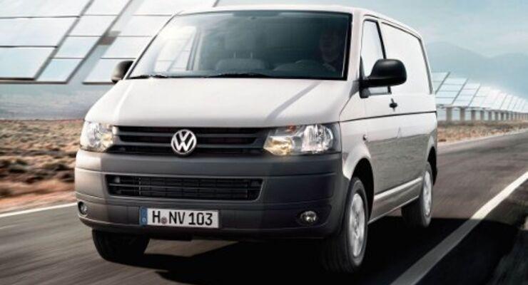 Volkswagen stellt Spar-Transporter vor