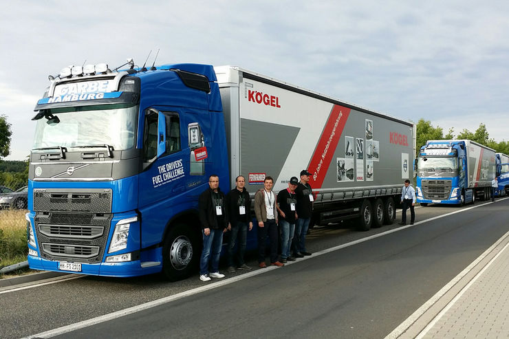 Volvo Driver's Fuel Challenge