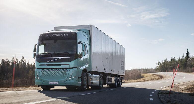 Volvo E-Lkw für Baustelle und Verteilerverkehr