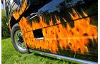 Volvo Johnny Cash, Ring of Fire, Flammen, Sattelzugmaschine