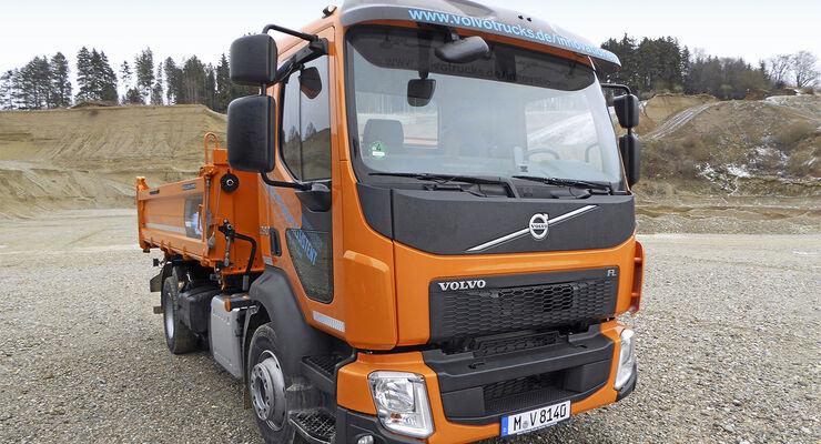 Volvo Kipper orange 280 Bauma