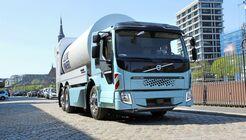 Volvo Trucks Elektro-Lkw E-Lkw FE FL electric Hamburg Müllsammler Müll-Lkw Präsentation Vorstellung 2018