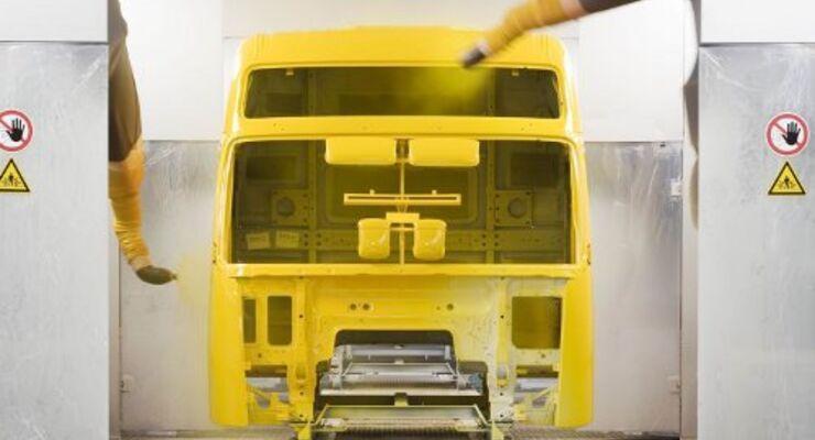 Volvo Trucks produziert umweltfreundlich