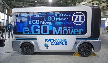 Vorschau IAA 2018 ZF autonomes Fahren Elektrifizierung