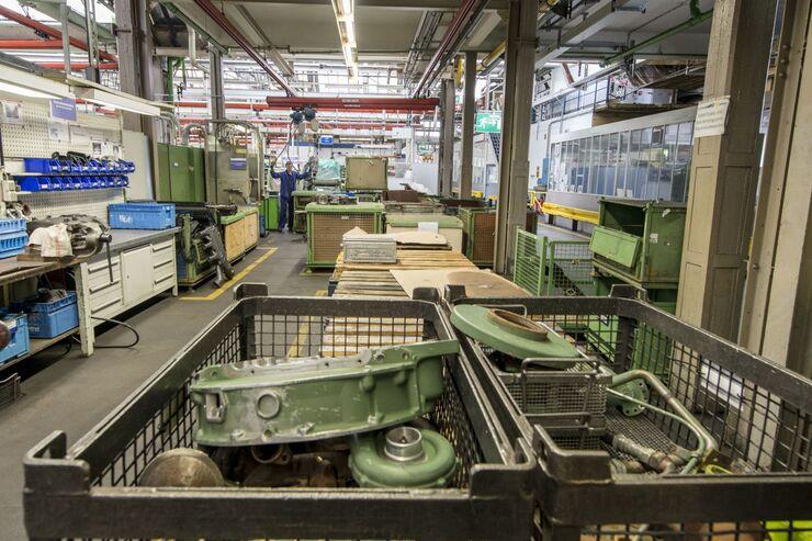 Werkstatt, Motoren, Aufbereitung, Mercedes, Mannheim