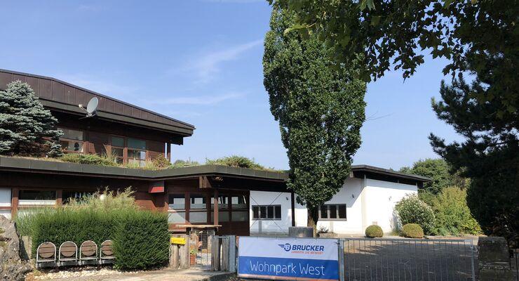 Wohnpark West Spedition Brucker