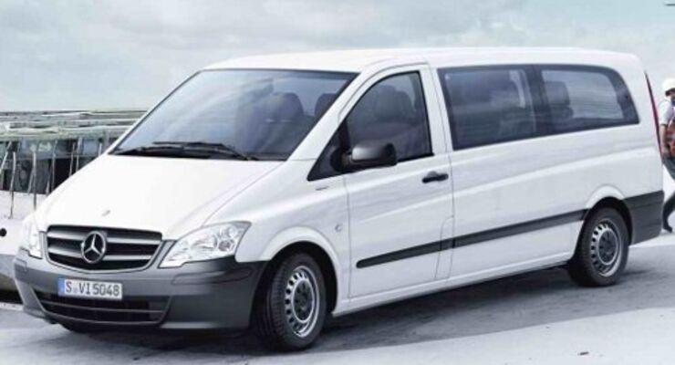 Zwei neue Vito-Modelle von Mercedes