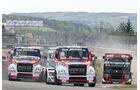 Zweites Rennen der Race Trucks beim Truck Grand-Prix 2011 am Samstag.