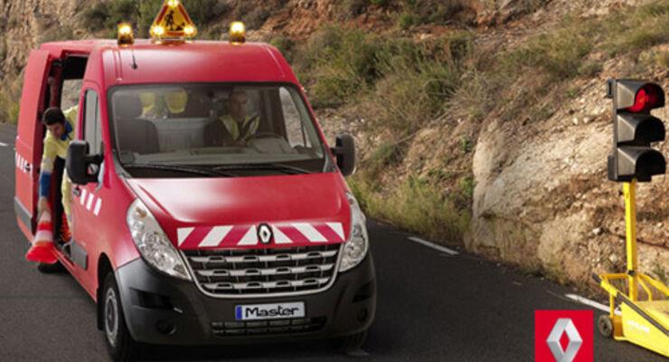 enault Master gibt es bei Renault Trucks