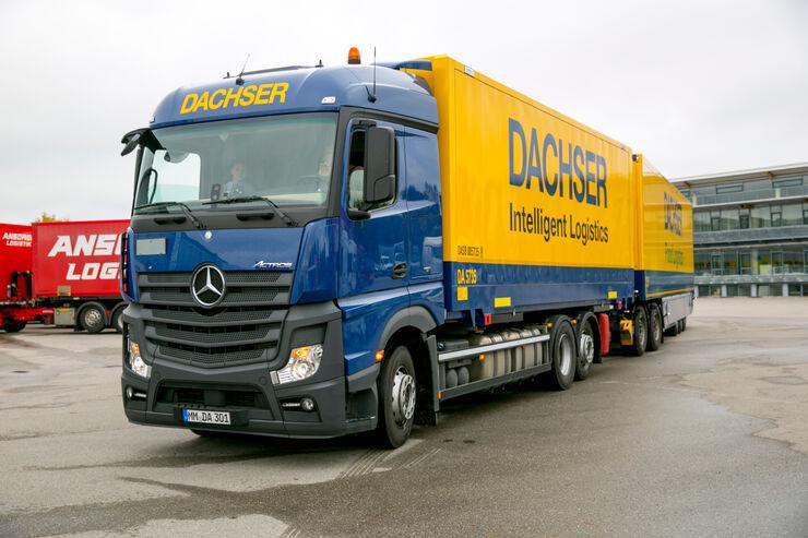 Dachser: Verwirrung um Lang-Lkw-Zahlen von Daimler ...