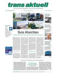 trans aktuell, Ausgabe 18/2019